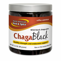 ChagaBlack 3.2oz Front Label