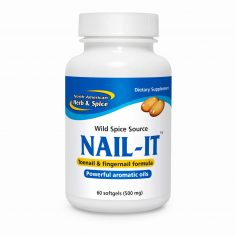 Front of Nail-It 60 count bottle