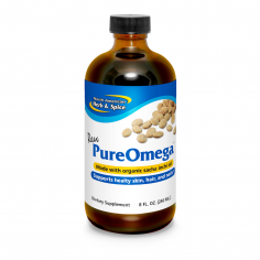 PureOmega 8 fl oz front label