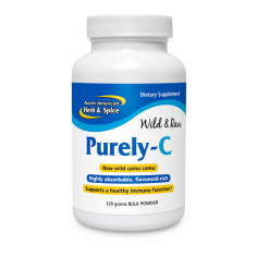 Purely-C 120 grams powder front label