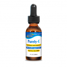 Purely-E 1 fl oz front label