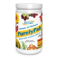 Front of PurelyPak 14 day supply bottle