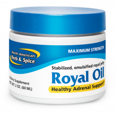 Royal Oil maximum strength front label