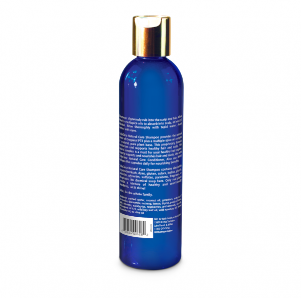 ScalpClenz shampoo back label